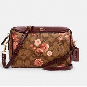 Coach BENNETT Crossbody shoulder Bag floral  3056